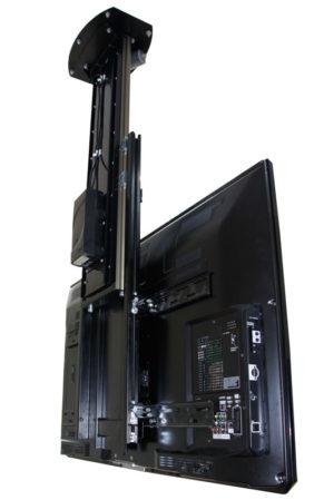 Elevator TV inversat